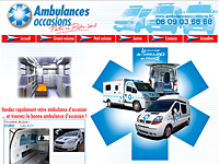 internet web agence - Vente d'ambulances d'occasion