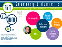 internet web agence - GYM AT HOME 74
